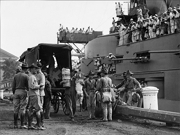 Invacion norteamericana en el puerto de Veracruz