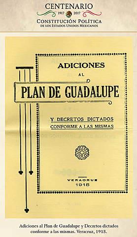 Carranza hizo adicciones al plan de Guadalupe en Veracruz