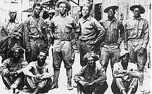 Una expedición de EUA  avanzó hacia el sur asta el carrizal