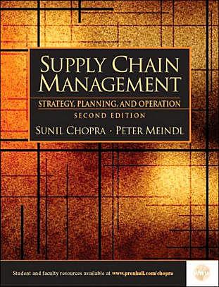 Sunil Chopra y su concepto de cadena de suministro.