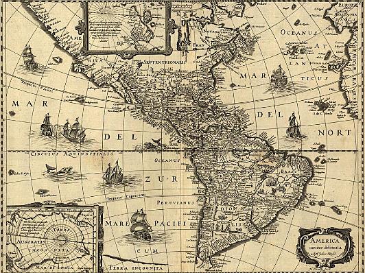 Creacion del mapa de America