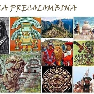 Linea de tiempo literatura precolombina timeline