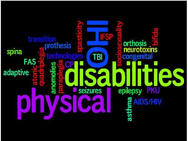 Physical and Health Impairments Examples