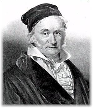 Gauss (1777-1855)