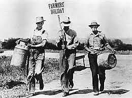 The Agricultural Adjustment Act paid farmers to limit crops