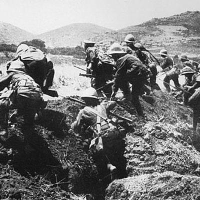 Eix Cronològic de La gran guerra timeline