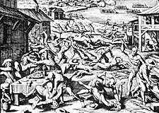 Massacre of Jamestown Colony