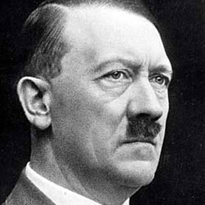 קורות חייו של היטלר  timeline