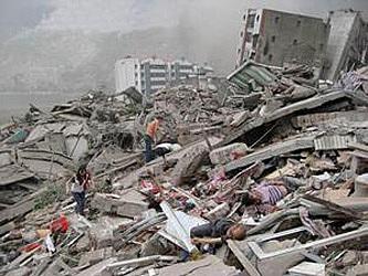 רעידת אדמה בעוצמה של 7.9 בסולם ריכטר פקדה את מחוז סצ'ואן שבסין וגרמה למותם של 69,197 בני אדם