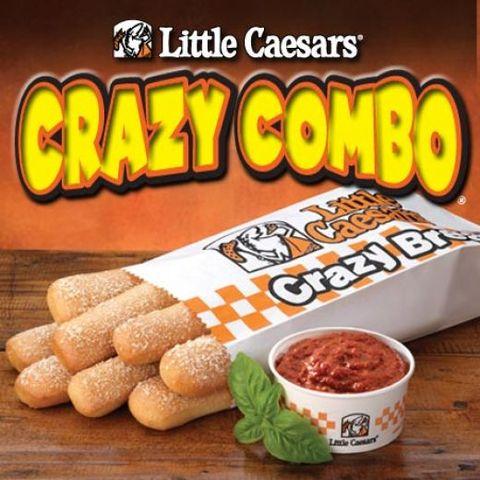 first little ceasars bread stick