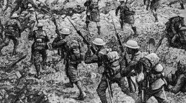 La Primera Guerra Mundial en el temps timeline