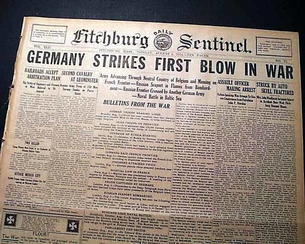 WWI Starts