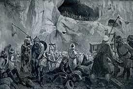 Batalla de Covadonga (inicio del Reino de Asturias)