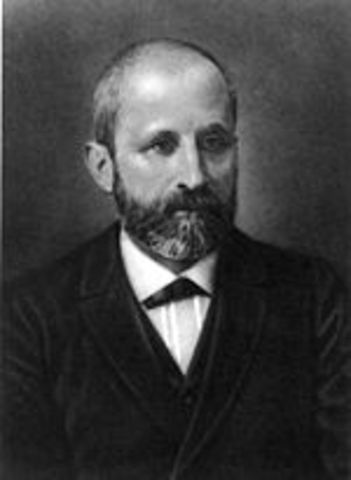 """Friedrich Miescher discovers """"nuclein"""" which would later be called DNA"""
