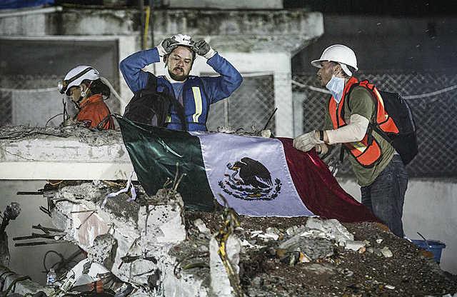 Sismo en México.