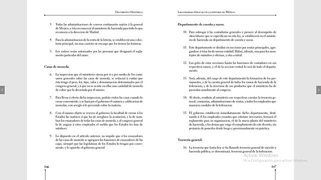 Decreto Arreglo de la administración de la hacienda pública.