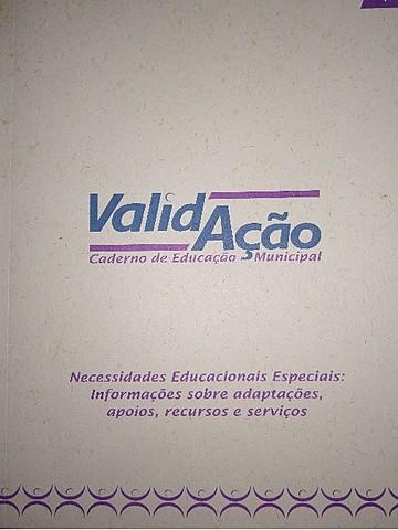 Caderno de Validação: Necessidades Educacionais Especiais.