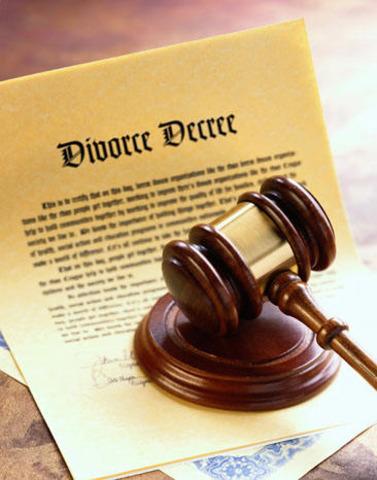 Parents divorced