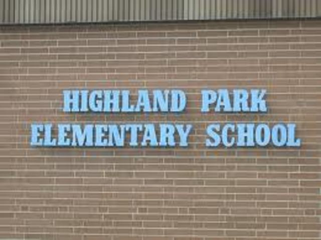 Attended Highland Park Elementary School