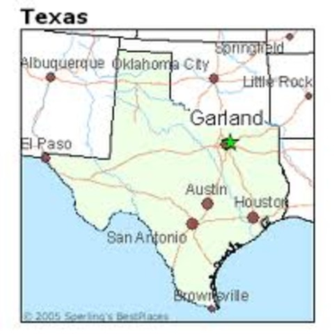 Moved to Garland Texas!!!
