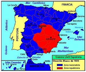 (Marzo 1939) El día 28 entran las tropas franquistas en Madrid.