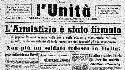 Armistizio tra Italia ed Alleati