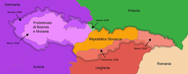 Invasione tedesca della Cecoslovacchia