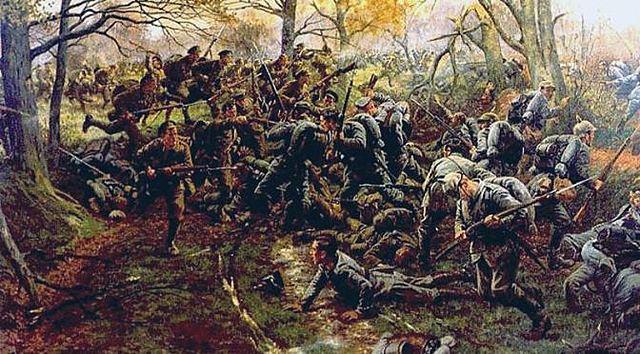 Primera Batalla de Flandes