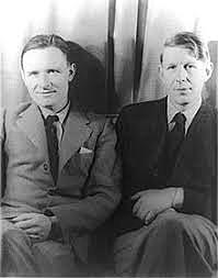 W.H. Auden and Christopher Isherwood