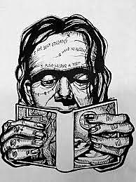 Mary Shelley Work The monster of Frankenstein