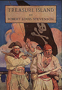 Treasure Island pulished by Robert Louis Stevenson