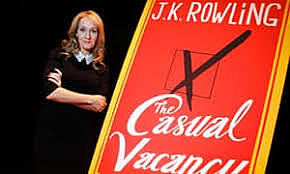 The Casual Vacancy and Harry Potter by Joanne Rowling