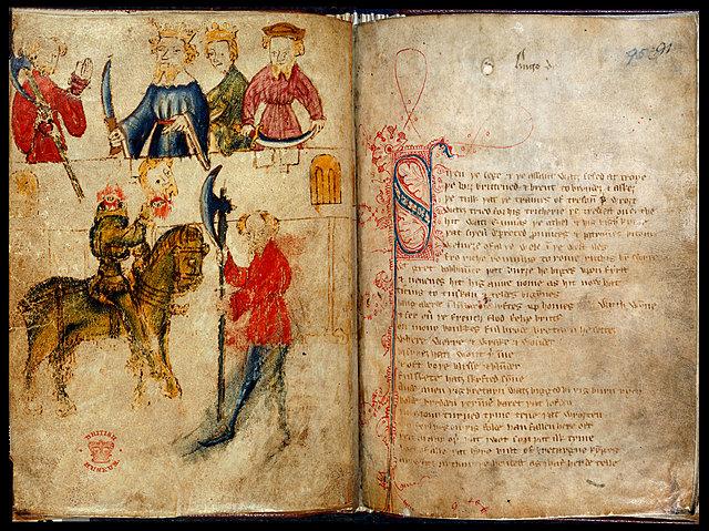 Sir Gawain and the Green KnightLate.