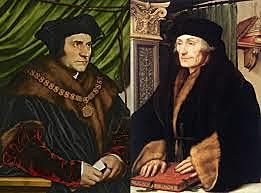 Desiderius Erasmus and Thomas More