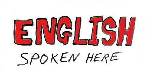 English, the predominant language