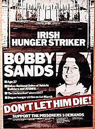 Bobby Sands begins hunger strike