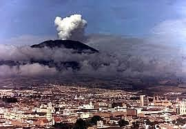 Columbia Eruption