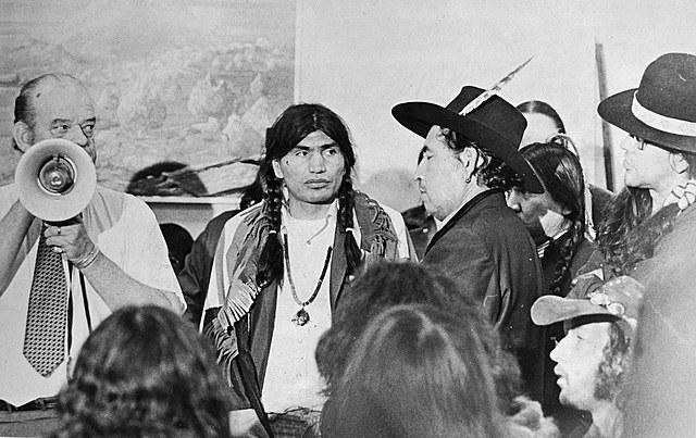 "'Trail of Broken Treaties' raises environmental health concerns"" 1972"