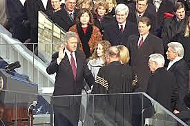 President Clinton's 2nd Term starts