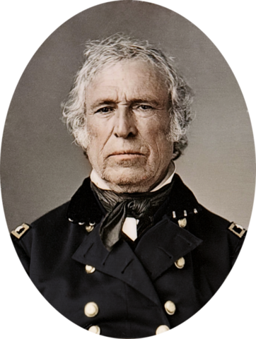 Zachary Taylor begins his term as President