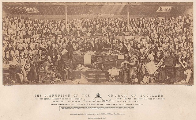 Disruption of the Church Of Scotland