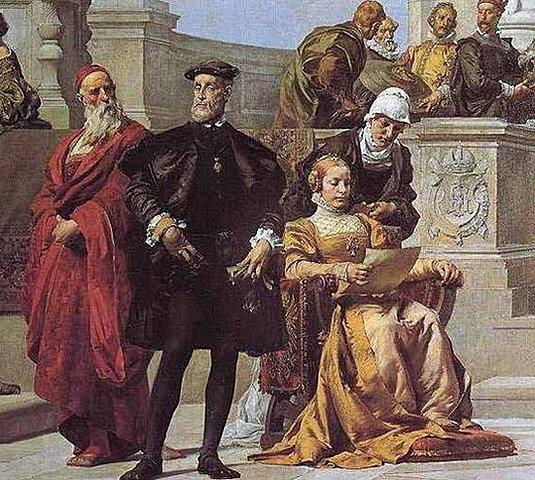 24 de octubre de 1503: Nace Isabel de Portugal, hija de Manuel I de Portugal y María de Aragón.