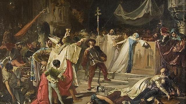1527: se produce el Saqueo de Roma por tropas del emperador Carlos V.
