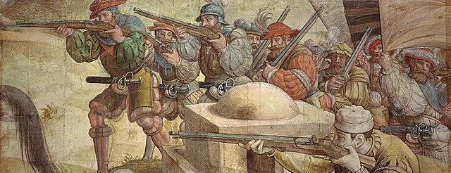 1535: los ejércitos del emperador Carlos V conquistan Túnez.
