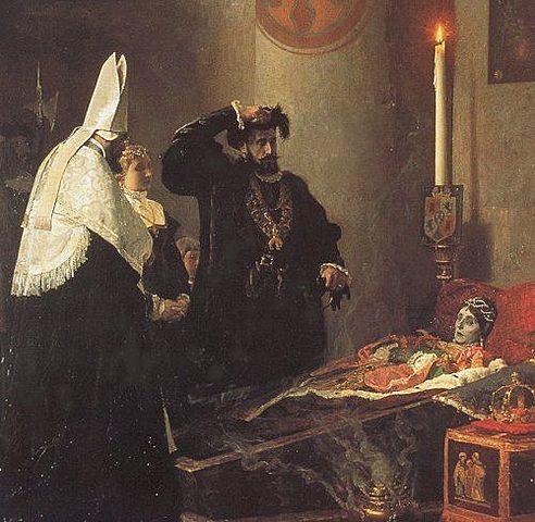 1 de mayo de 1539: Aborto y posterior muerte de Isabel.