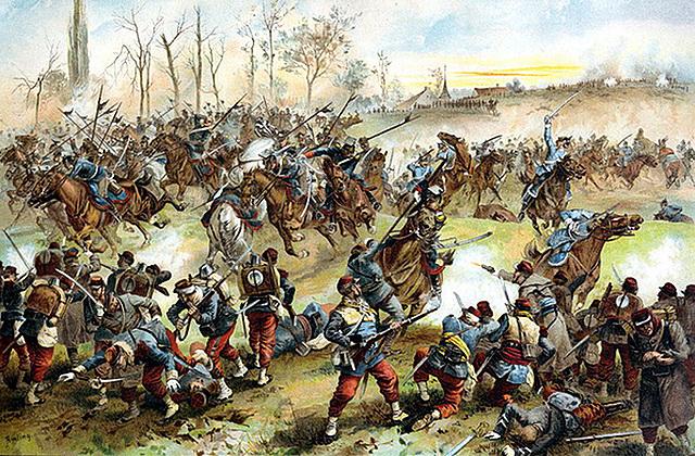 1557: Victoria en la batalla de San Quintín.