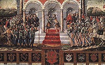 1559: Paz de Cateâu Cambrésis entre España y Francia.
