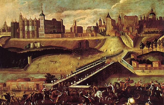 1560: Felipe II declara Madrid como capital del reino.