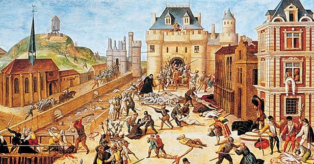 1562-1598: se producen las Guerras de religión de Francia entre católicos y protestantes.