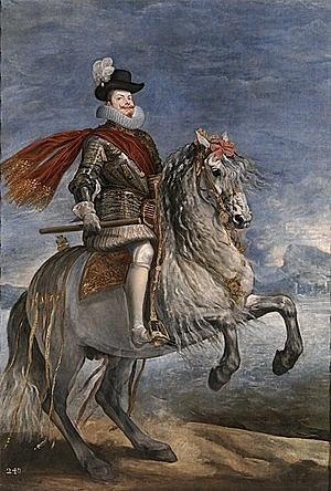 1598: Muere Felipe II, abdicando en el hijo de su cuarto matrimonio, Felipe III.